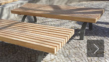 Custom-built benches