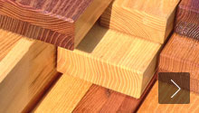 Bonded robinia wood products