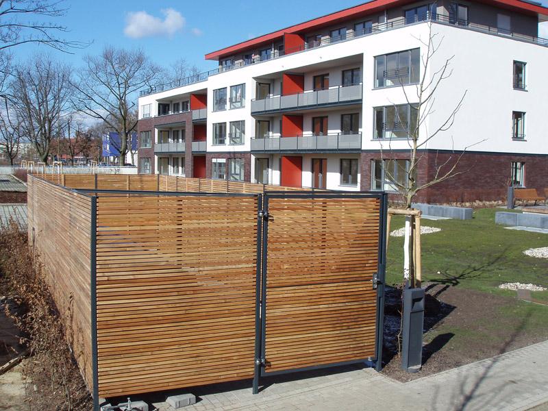 Waste Container Area Markpine Holzindustrie Nahmitz