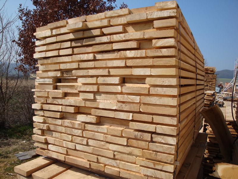 Schnittholz Robinie Markpine Holzindustrie Nahmitz